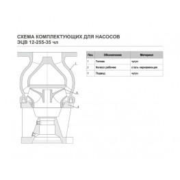 ЭЦВ 12-255-30 чл
